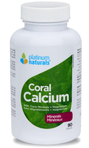 PLATINUM Coral Calcium (90 sgels)   (60 Softgels)