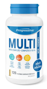 PROGRESSIVE Multi Adult Men (120 caps)