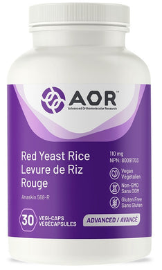 AOR Red Yeast Rice 30 Caps