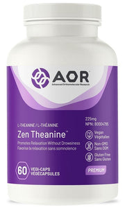 AOR Zen Theanine (225 mg - 60 caps)