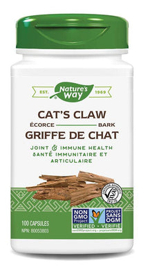 NATURES WAY Cats Claw ( 100 caps )