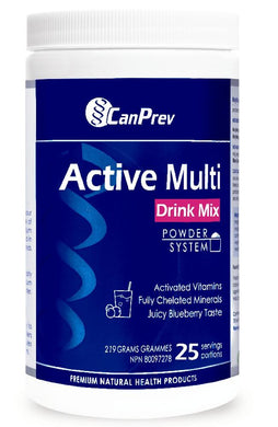 CANPREV Active Multi Drink Mix (Blueberry - 219 Gr)