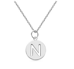 Initial Disc Necklace - Element of M