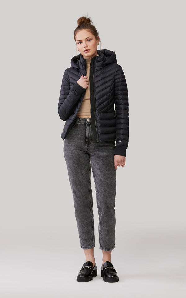 Soia & Kyo Chalee Ladies Hooded Light Down Jacket