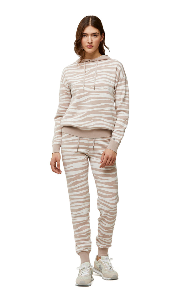 Soia & Kyo Leila Ladies Zebra Print Sweater