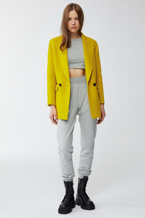Mackage Edina Double-Faced Wool Double-Breasted Jacket