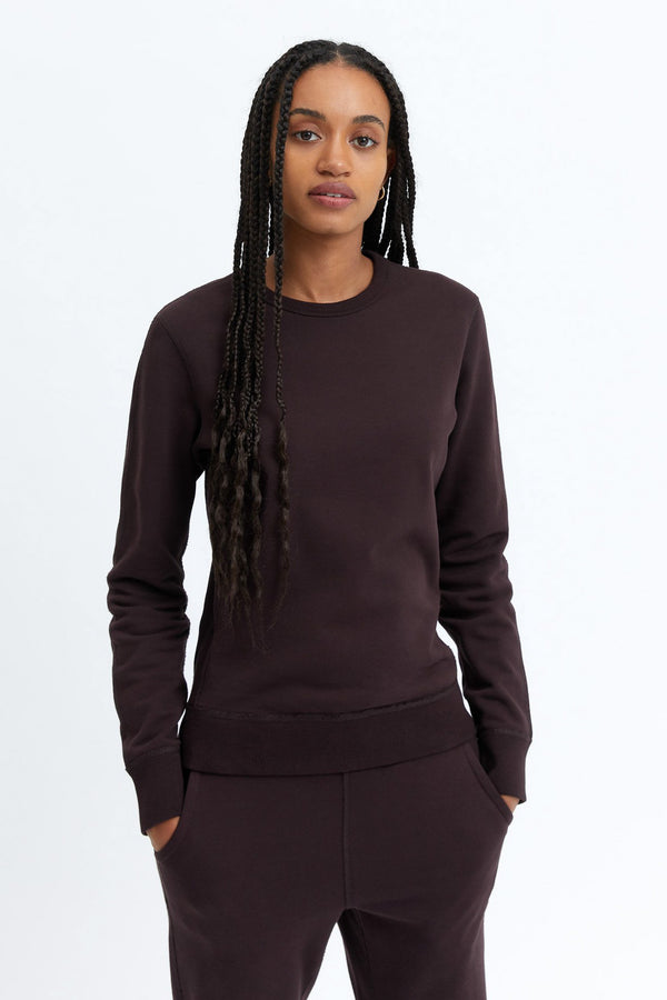 REIGNING CHAMP WOMENS MIDWEIGHT TERRY CREWNECK