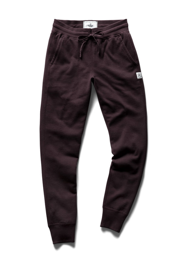 REIGNING CHAMP WOMENS MIDWEIGHT TERRY SLIM SWEATPANT