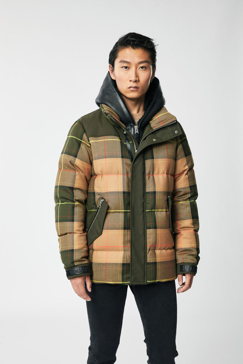 Mackage Riley Men's Wool Down Jacket