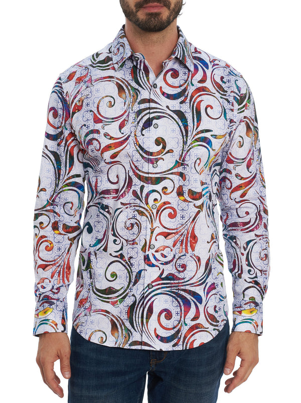 Tempo Long Sleeve Classic Fit Shirt