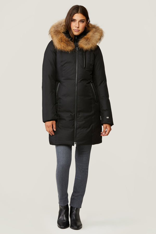 Soia & Kyo Christy Slim-Fit Ladies Down Coat
