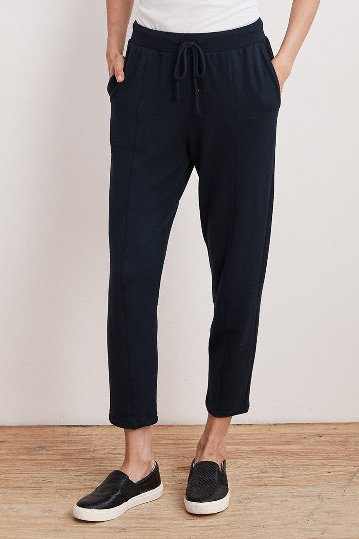 Velvet Kappa Luxe Fleece Track Pant in Night