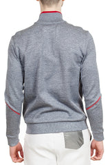 BOSS Skaz Full Zip Sweatshirt in Light Blue