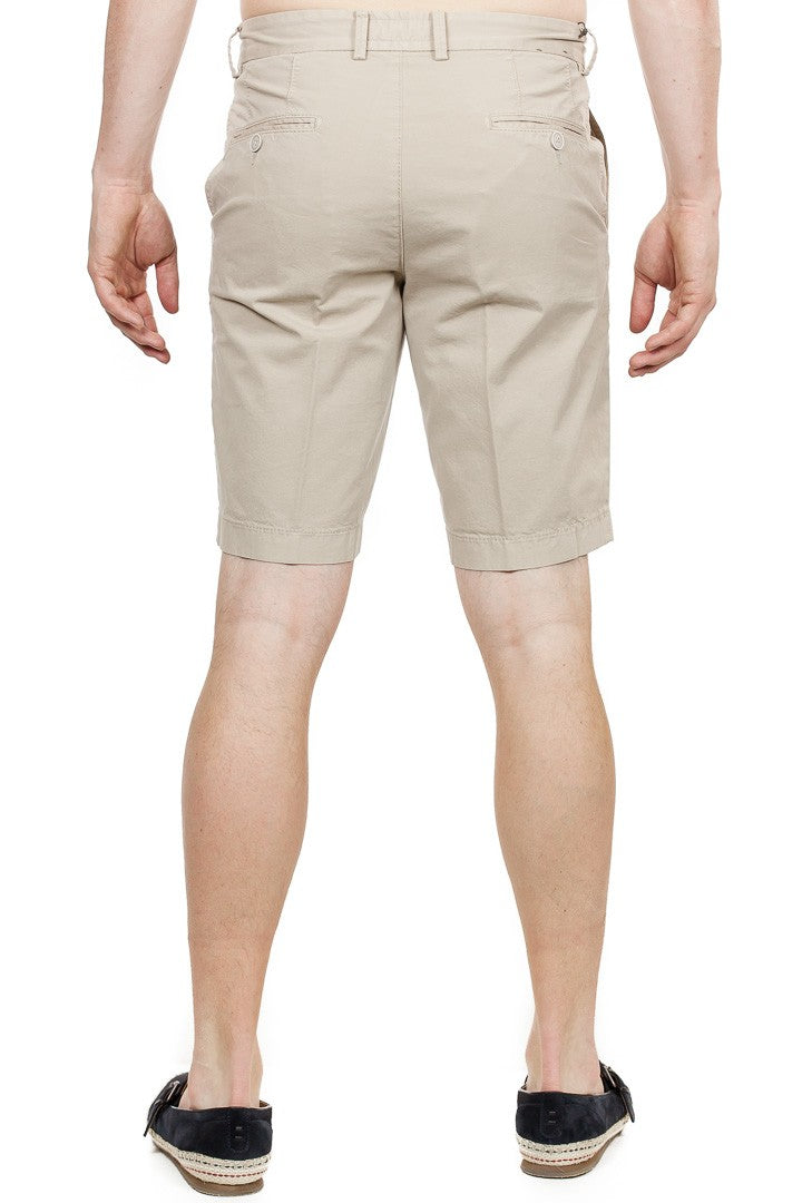 Brax - Belleville Stretch Cotton Shorts - Sand