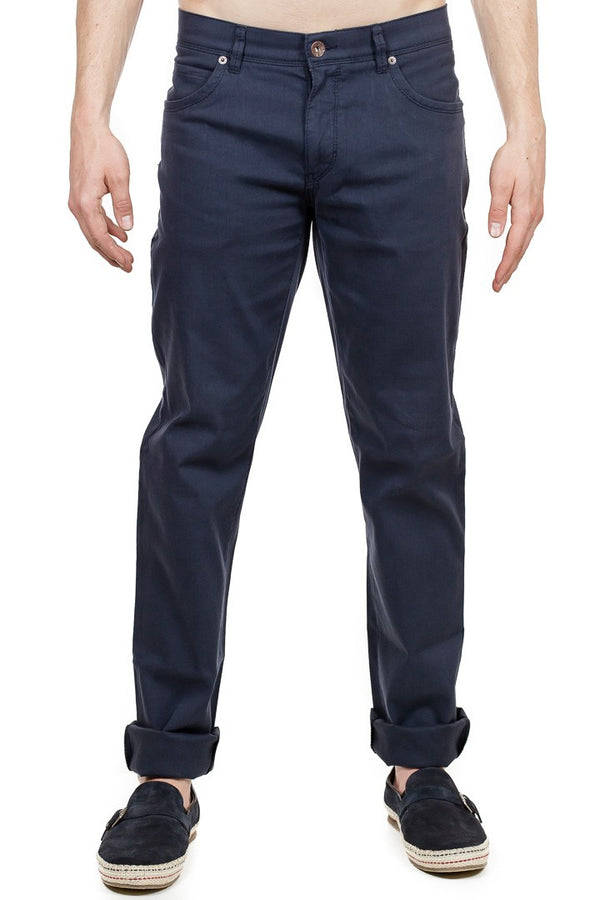 Brax - Cadiz Five Pocket Pants - Navy
