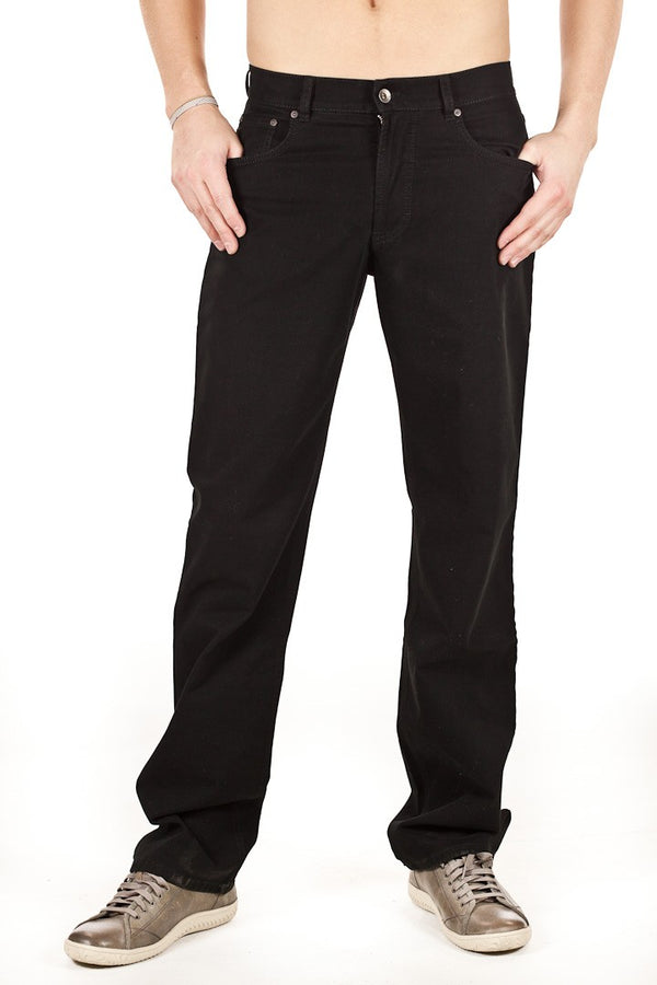 Brax - Cooper Black Velvet Stretch