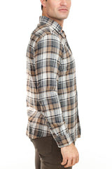 Brax - Dalton Check Shirt - Tan