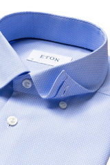 Eton Light Blue Dobby Contemporary Fit Shirt