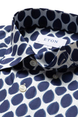 Eton Watercolour Dots Contemporary Fit Shirt