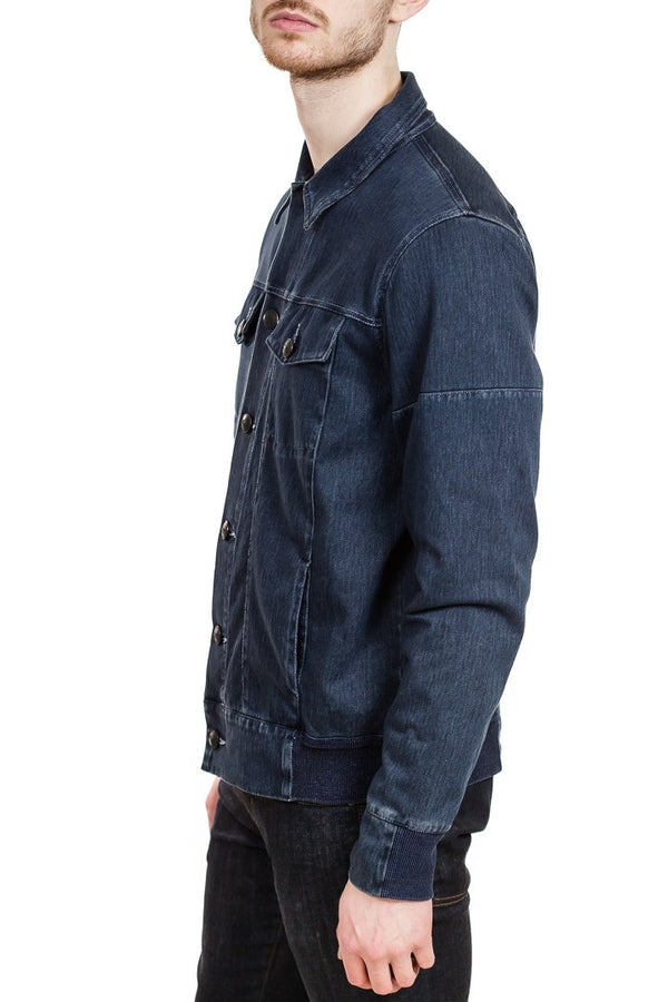 Good Man Brand Twill Knit Jean Jacket