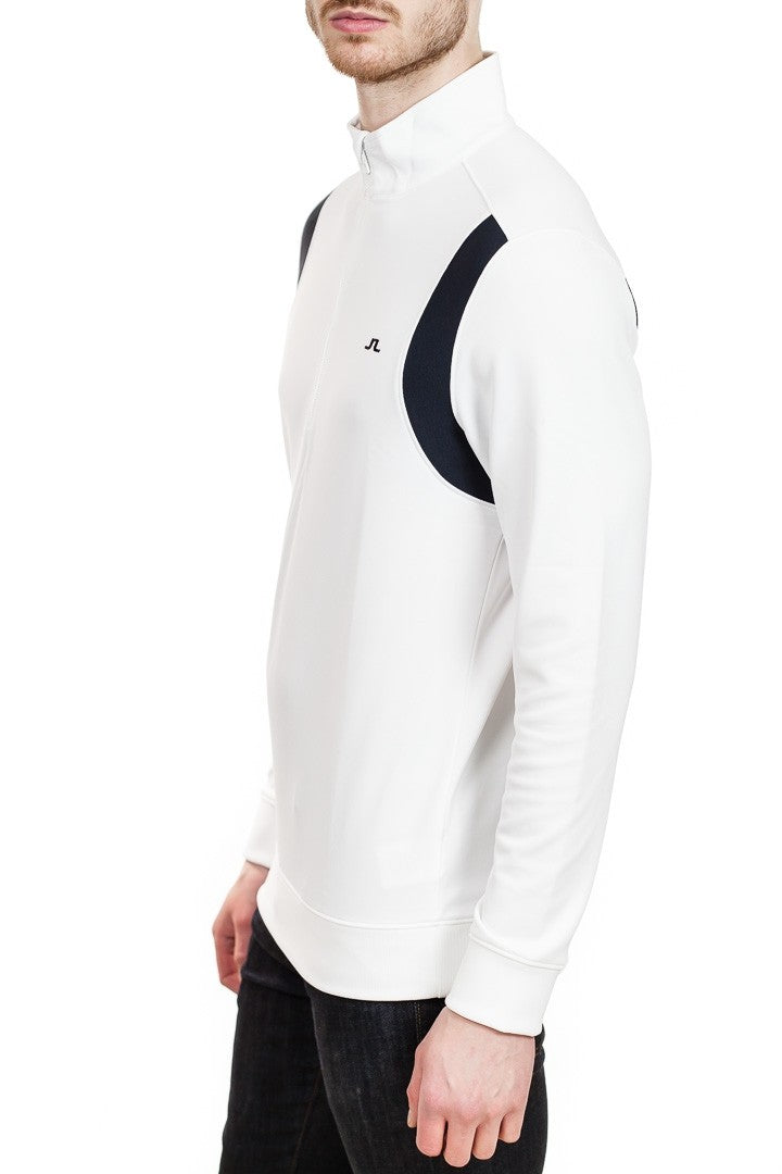 J. Lindeberg Fox Mid Jacket in White