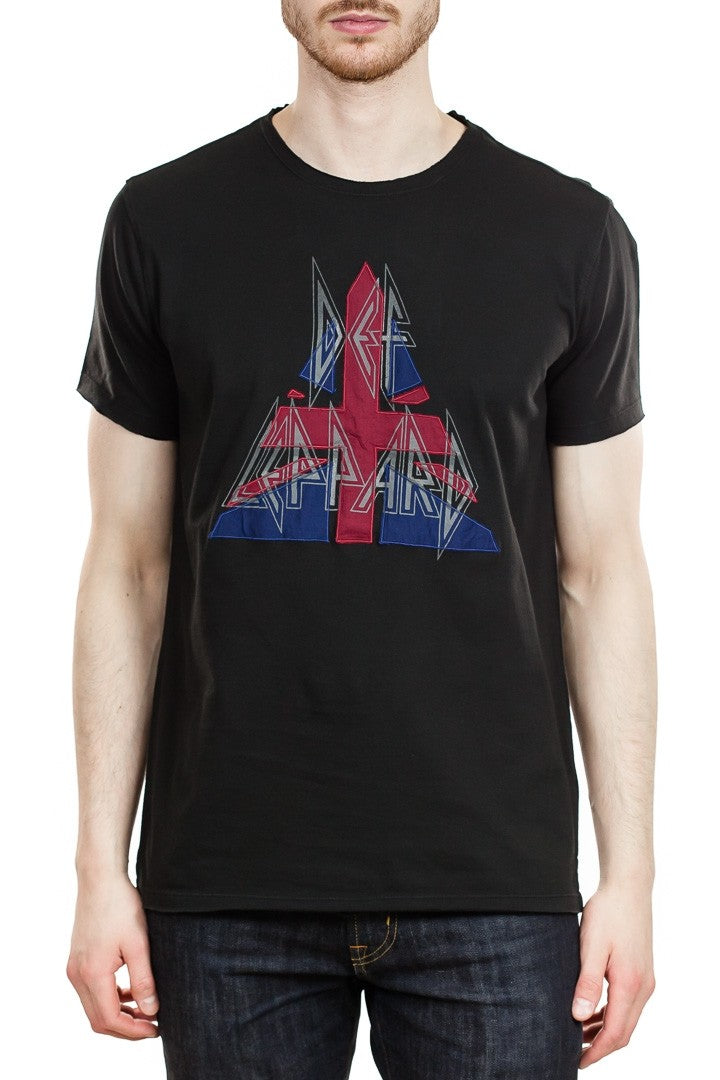 John Varvatos Def Leppard Tee in Black