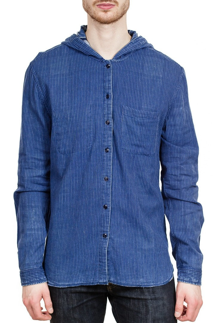 John Varvatos Grayson Reversible Shirt in Hyacinth