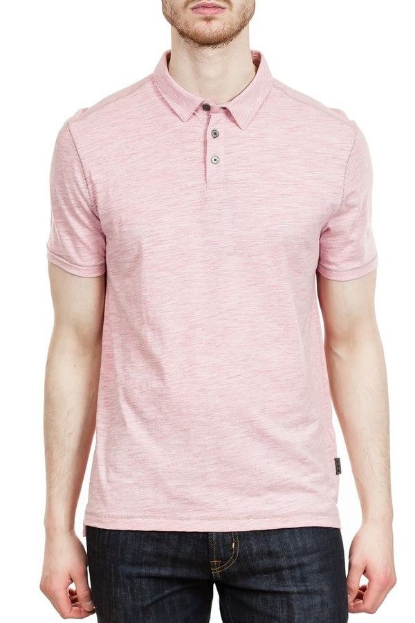 John Varvatos Gregory Polo in Coral
