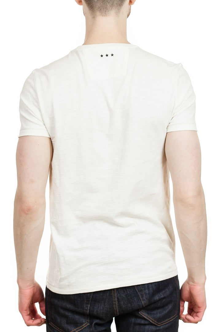 John Varvatos Speak No Evil Tee in Optic White