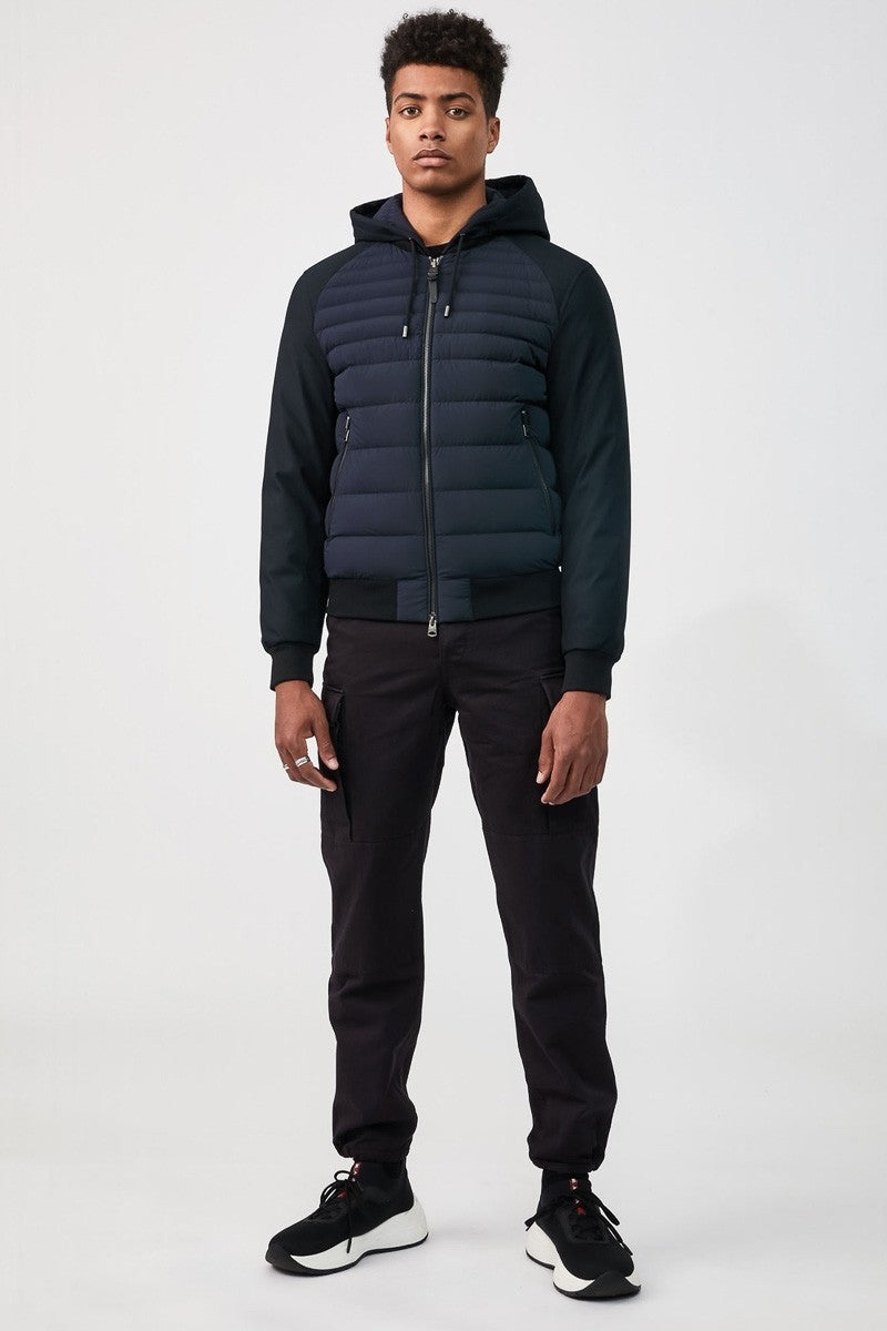 Mackage Eryk Men&#39 s Lightweight Down Jacket in Navy