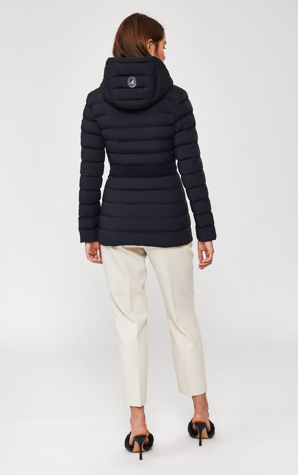 Kaila Lightweight Down Jacket in Navy