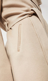 Mackage Laila Wool Coat in Sand