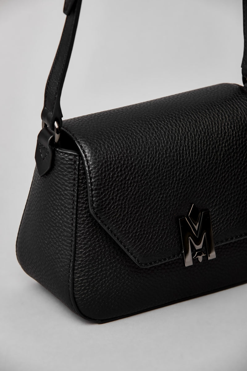 Mackage Marcie Structured Crossbody Bag in Black