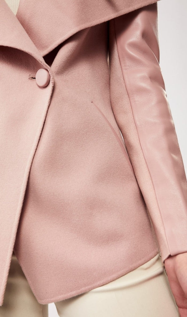 Mackage Valla Wool Coat in Petal