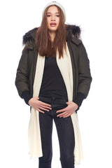 Moose Knuckles Ladies Glembush Bomber in Army