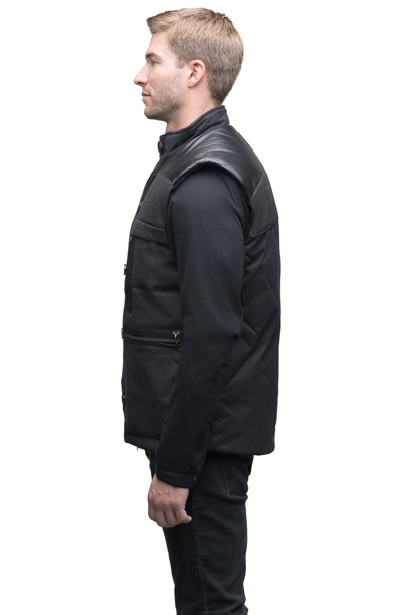 Nobis Blackwell Mens Vest in Black