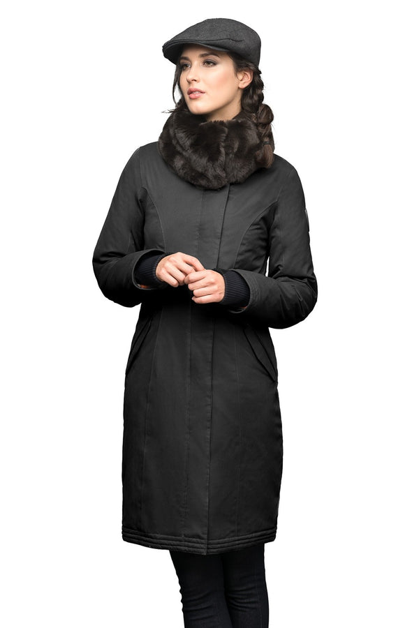 Nobis Lady Taylor Ladies Coat in Black