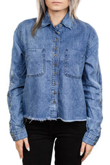OneTeaspoon Montana Shirt in Hendrixe