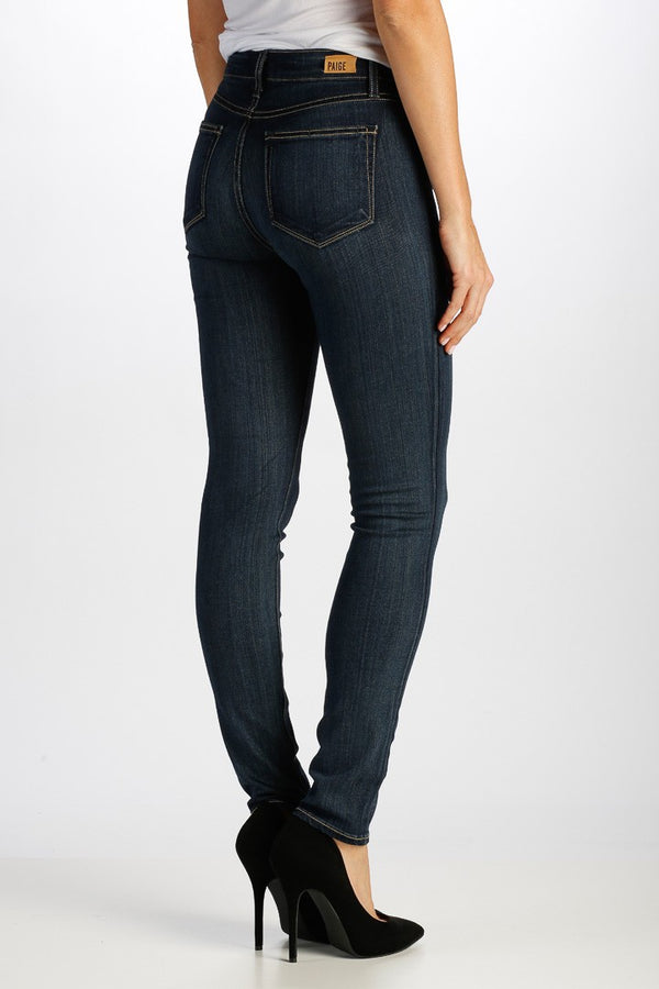PAIGE Hoxton Ultra Skinny Fit Jeans in Vista