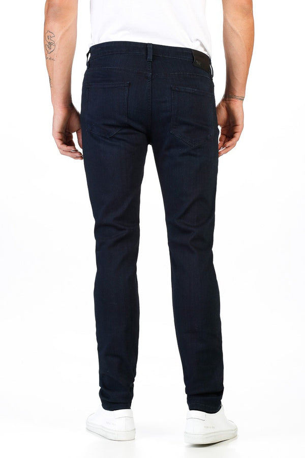PAIGE Lennox Skinny Fit Jeans in Inkwell