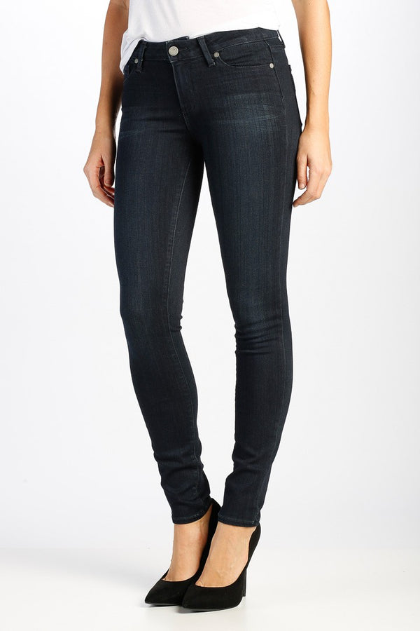PAIGE Verdugo Ultra Skinny Fit Jeans in Tonal Mona
