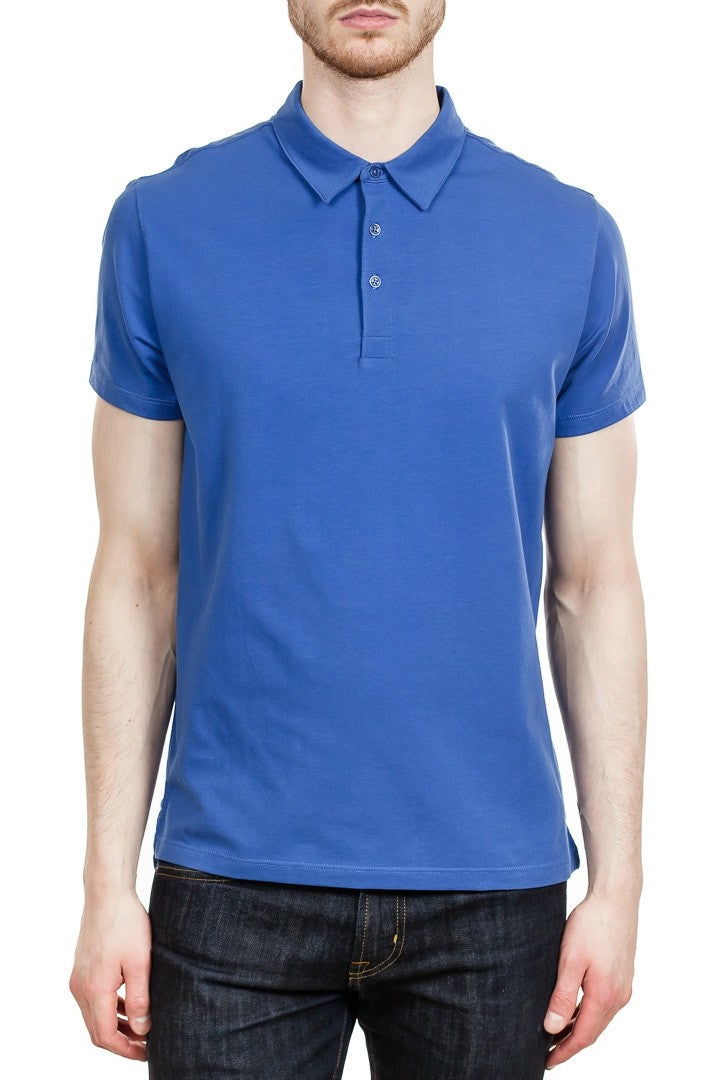 Patrick Assaraf Stretch Lightweight Polo in Majestic