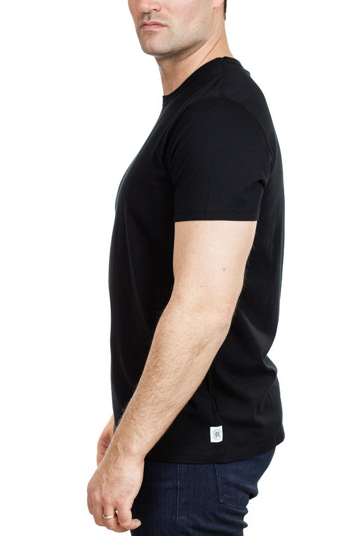 Reigning Champ Ringspun Jersey T-Shirt in Black