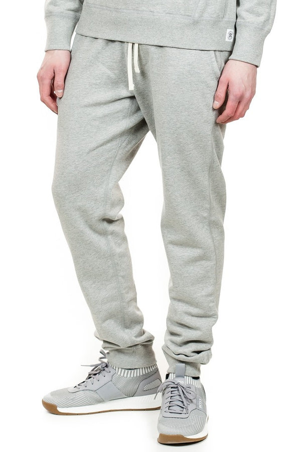 Reigning Champ Slim Sweatpant in Heather Grey