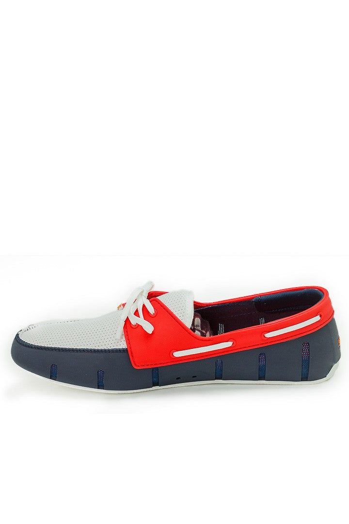 SWIMS - Sport Loafer - Navy/Red