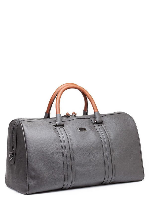 Ted Baker Crossgrain Holdall in Grey
