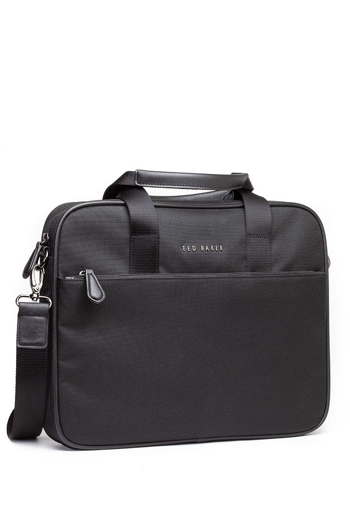 Ted Baker Laptop Satchel in Black