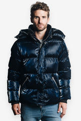 Woodpecker Men&#39 s Bumnester 3/4 Jacket in All Wet Navy