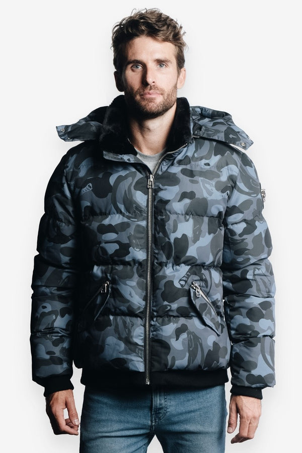 Woodpecker Men&#39 s Bumnester 3/4 Jacket in Camo