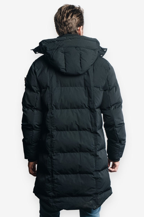 Woodpecker Men&#39 s Penguin Long Jacket in Black
